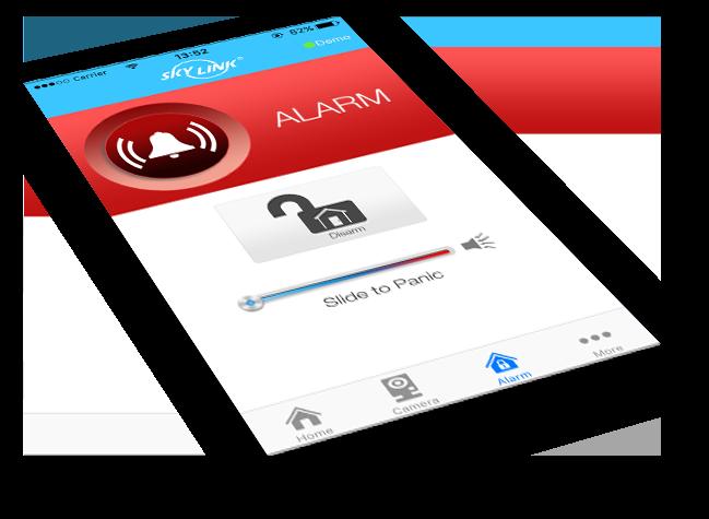 SkylinkNet App Alarm