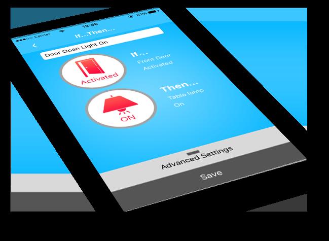 SkylinkNet App If Then