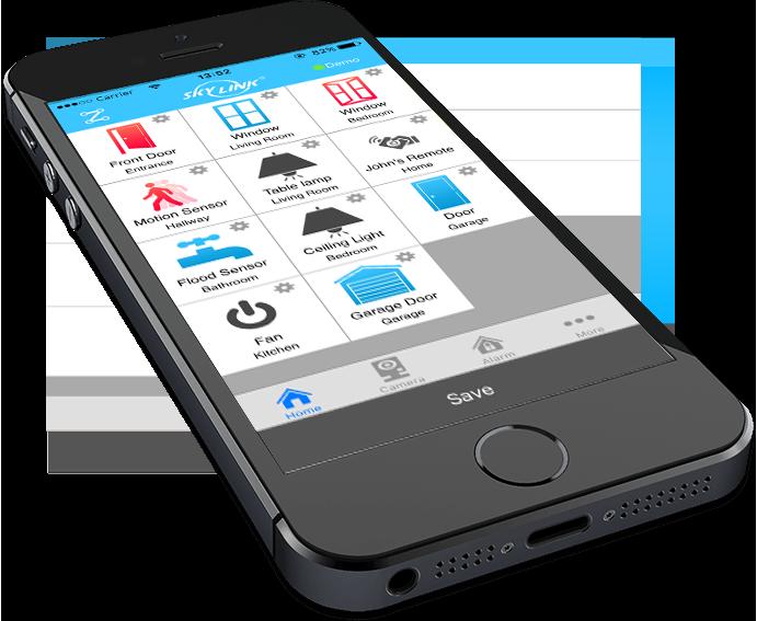 Skylink Products Garage Door Opener And Alarm System