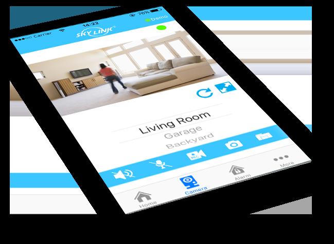 SkylinkNet App Seniors